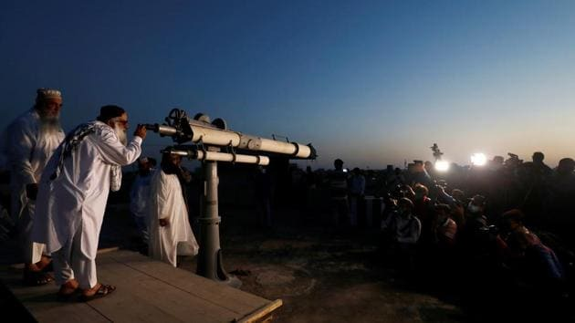 Beginning of Ramzan depends on the sighting of the new moon.(REUTERS Photo)