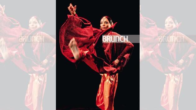 Malvika Sarukkai's new solo production is based on the Bhagavad Gita, Hinduism's most influential and beloved scripture(Sudeep Bhattacharya)