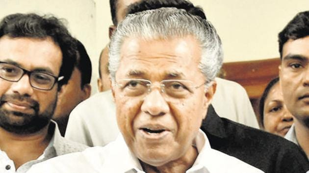 Pinarayi Vijayan said that seven new Covid-19 cases were reported on Saturday, taking the total count to 457.(PTI)