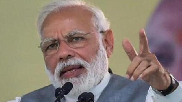 Prime Minister Narendra Modi emphasised that the development of the nation and democracy hinges on the progress made by the panchayats at the grassroots.(PTI file photo)