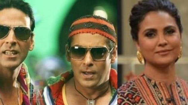 Lara has worked with both Salman Khan and Akshay Kumar.