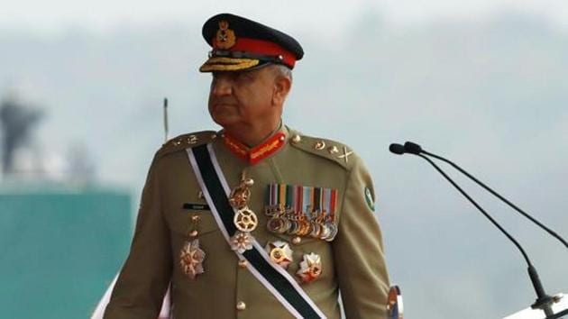 Pakistan's Army Chief of Staff General Qamar Javed Bajwa, walks as he arrives to attend the Pakistan Day military parade in Islamabad, Pakistan March 23, 2019.(REUTERS)