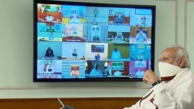 Monday's will be the fourth meeting the Prime Minister and the Chief Ministers will hold on the pandemic — and possibly the last before the extended lockdown ends.(ANI file photo)