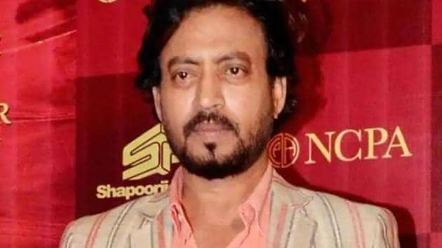 Irrfan Khan has been admitted to hospital.