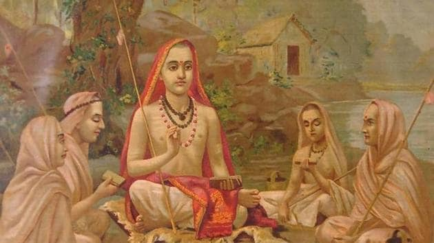 Adi Shankaracharya is known for consolidating the main thoughts associated with Hinduism.(Wikimedia Commons)