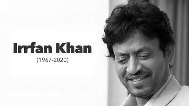 Irrfan Khan has died at the age of 53 in Mumbai.