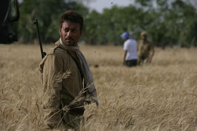 Irrfan Khan in Paan Singh Tomar, one of his most powerful performances.