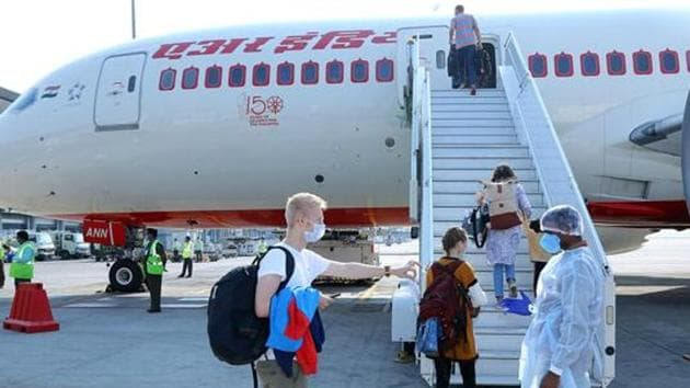 Strict social distancing norms will be introduced inside the planes to ensure space between two passengers.(ANI PHOTO.)