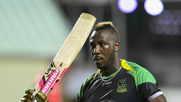 Andre Russell.(CPL)