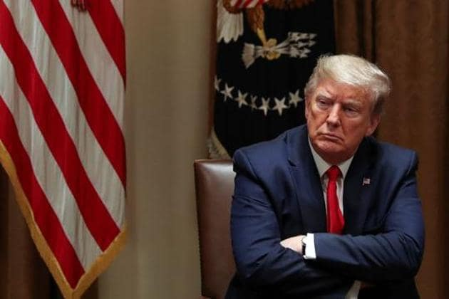 United States President Donald Trump said he believed Beijing would try to make him lose his re-election bid in November.(Reuters file photo)