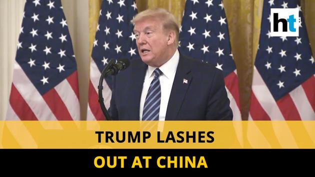 US President Donald Trump lashed out at China over coronavirus crisis. The US President also threatened China with fresh tariffs. Trump said he had seen evidence linking a Wuhan lab to the virus. Coronavirus is believed to have originated late last year in a Wuhan market. So far, the deadly virus has killed over 230,000 people worldwide. The pandemic is causing economic crisis across the globe. Over 30 million Americans have filed for unemployment benefits.