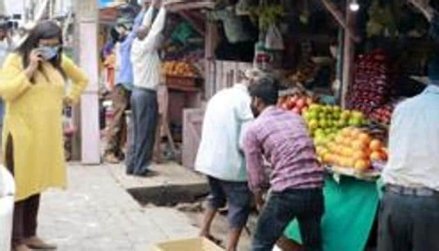 On April 14, around a dozen residents of Baba Namdev Colony had thrashed a 26-year-old man when he was passing through their area on motorcycle.(ANI)