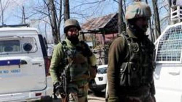 Eighteen terrorists were killed in January while seven each in February and March.(ANI)