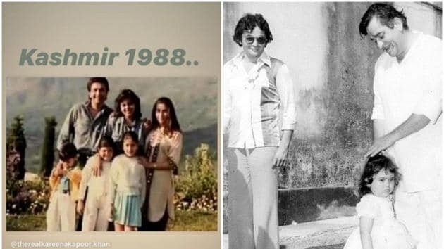 Karisma Kapoor shared a rare family picture.