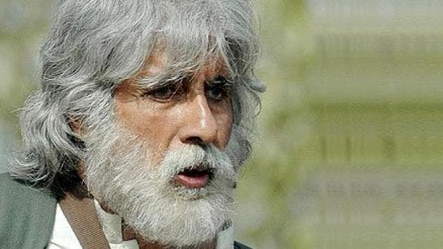 Amitabh Bachchan plays a man on a journey in Shoebite.