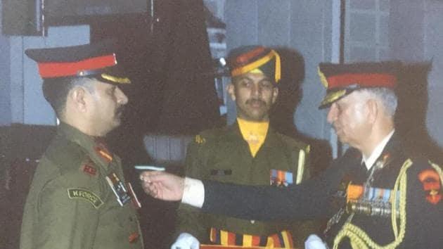 Col Sharma spoke to his family on May 1, the raising day of 21 Rashtriya Rifles.(FILE PHOTO.)