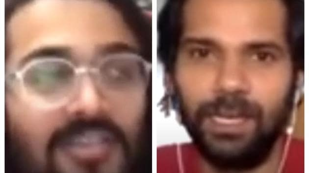 100 Hours 100 Stars: YouTuber Bhuvan Bam and actor Neil Bhoopalam were in conversation with Fever FM for 100 Hours 100 Stars