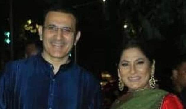 Archana Puran Singh with husband Parmeet Sethi.