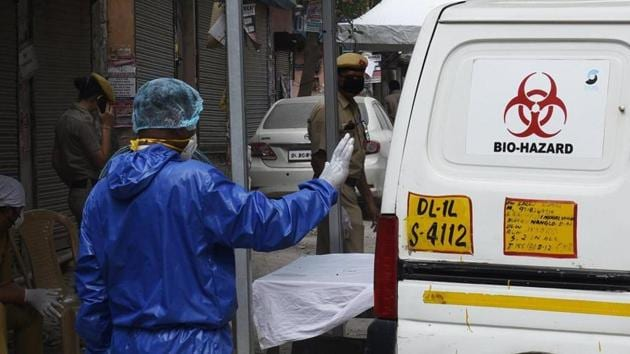 The most common forms were device-related pressure injuries, moisture-associated skin damage, and skin tears, and they were sometimes found at multiple parts of the same health care worker's body.(Vipin Kumar/HT file photo. Representative image)