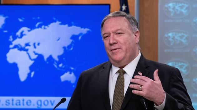 United States Secretary of State Mike Pompeo.(AP file photo)