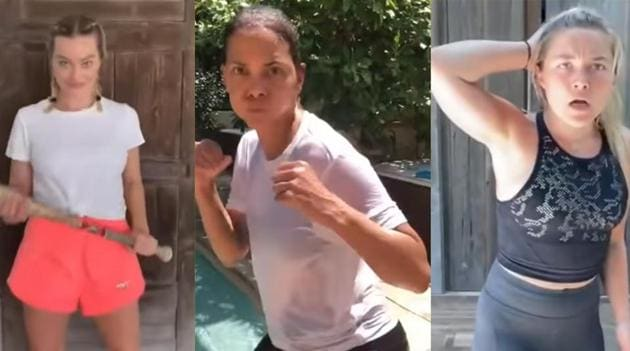 Margot Robbie, Halle Berry and Florence Pugh were all in for a fight.