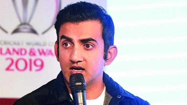 A file photo of Gautam Gambhir.(Twitter)
