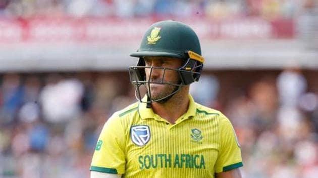 South Africa's Faf du Plessis(Action Images via Reuters)