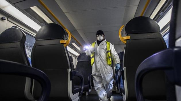 All pandemics end. China seemed finished after SARS but it bounced back in six months.(AP)