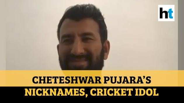 Cheteshwar Pujara spoke with RJ Hrishi K as part of the 100 Hours, 100 Stars campaign to raise funds for the fight against Covid-19. Cheteshwar Pujara reveals his cricket idol and also his favourite batting partner. Pujara also revealed the nicknames given to him by foreign player. Watch the full video for more details.