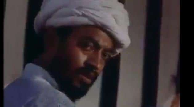 Irrfan Khan in Shyam Benegal's Bharat Ek Khoj.