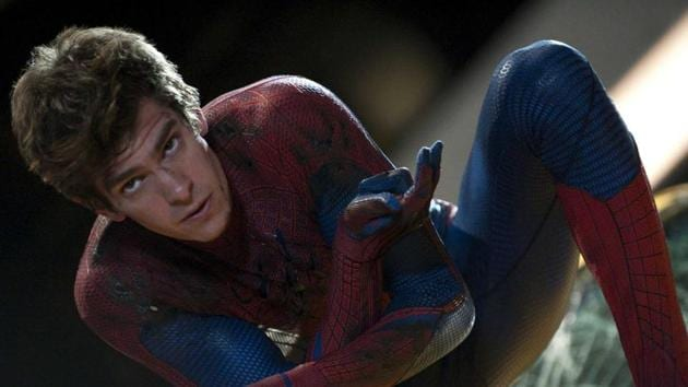 Andrew Garfield played Spider-Man in two films.