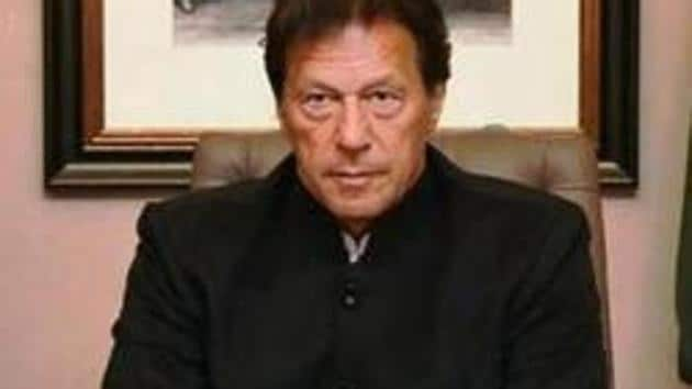 Pakistan Prime Minister Imran Khan took to Twitter after India said Pakistan was behind the unrest in Kashmir(PTI File Photo)
