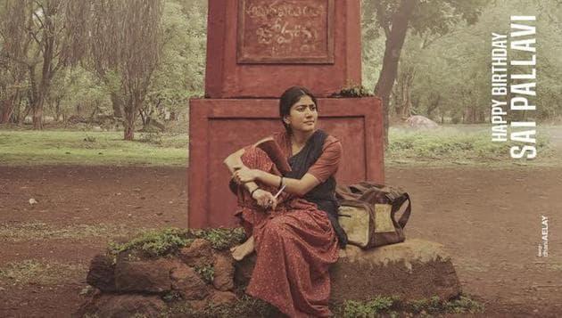 Sai Pallavi plays a Naxalite in Virataparvam.