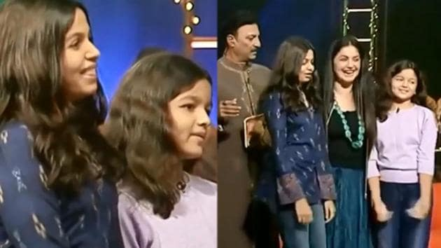 Shaheen Bhatt, Alia Bhatt and Pooja Bhatt on Jeena Isi Ka Naam Hai.