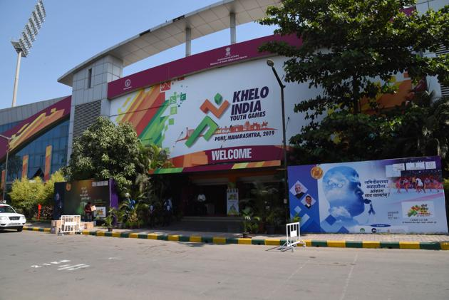 Shiv Chhatrapati Sports Complex at Balewadi in Pune also hosted Khelo India Youth Games in 2019(HT PHOTO)