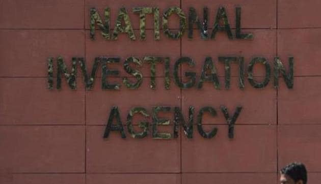 The NIA said Rana was also working closely with Hizbul Mujahideen (HM) as well as Pakistan's spy agency – ISI.(HT PHOTO)