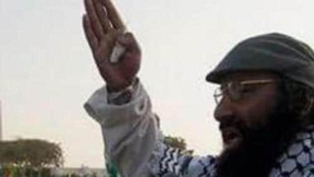 Hizbul Mujahideen 'supreme commander' Syed Salahuddin.(HT FILE PHOTO)