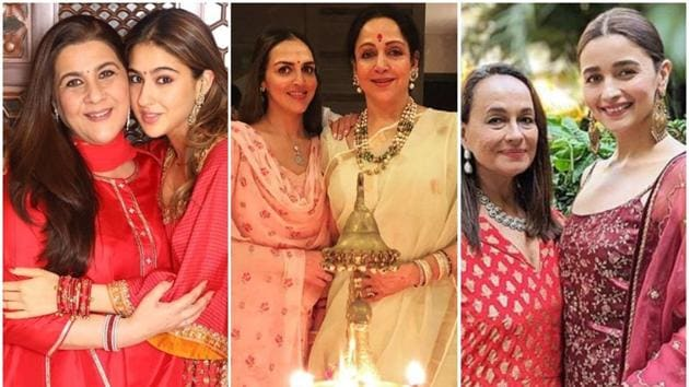 Mother's Day: Bollywood has many examples of mothers and their daughters being successful in films.