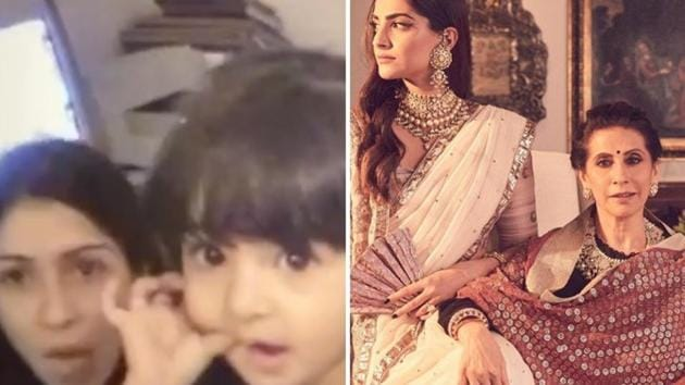 Mother's Day 2020: Sonam Kapoor, Ananya Panday, Ishaan Khatter and Aparshakti Khurrana shared pictures with their moms.
