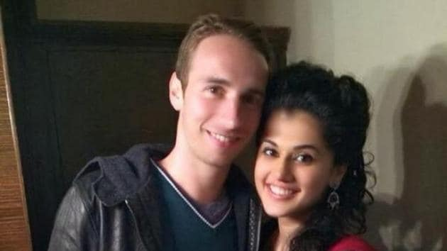 Taapsee Pannu is said to be dating badminton player Mathias Boe.
