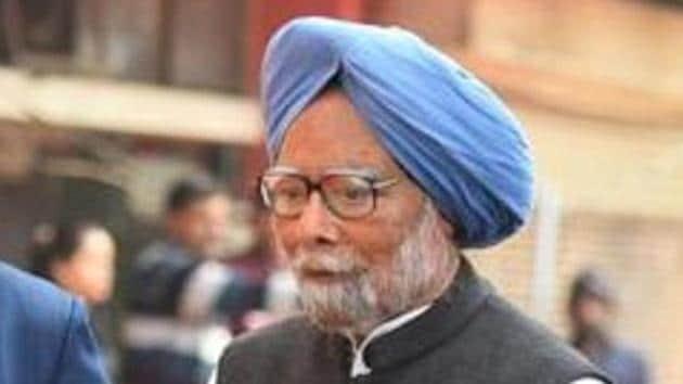 Manmohan Singh, Congress leader and former Prime Minister was taken to AIIMS on Sunday night.(Raj K Raj/HT file photo)