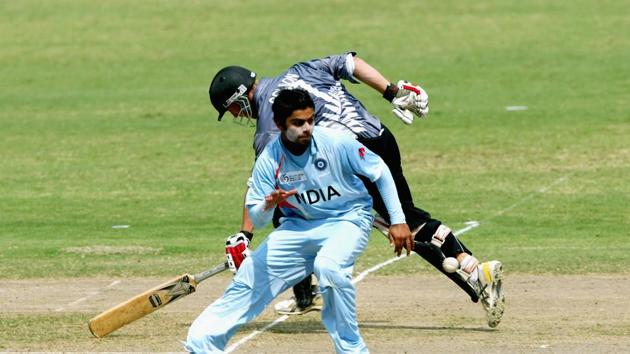 Virat Kohli during U19 World Cup in 2008(Getty Images)