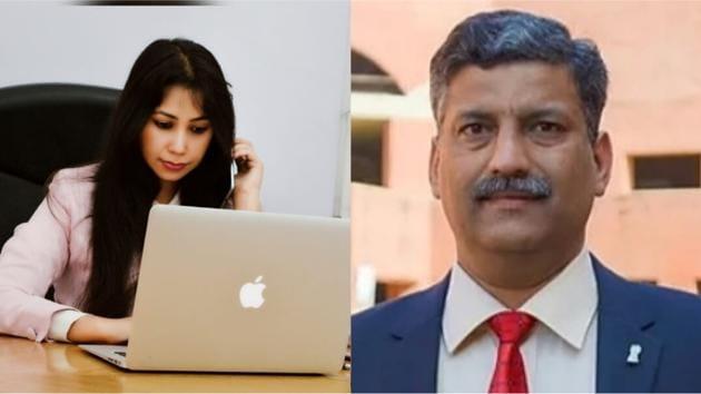 Innovators Of Shuddhi Box - Purvi Roy, CEO and Col. Krishan Kumar Singh, CTO.
