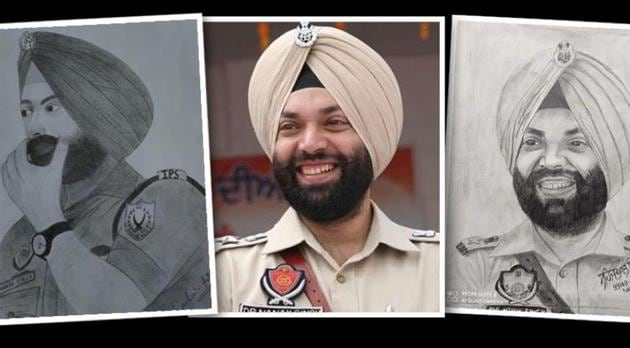 As a tribute, admirers have been drawing Singh's sketches and sending him on social media.