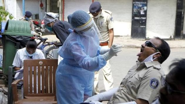 Active Covid-19 cases are the number of total coronavirus cases after deducting the recovered/discharged patients and number of fatalities.(ANI)