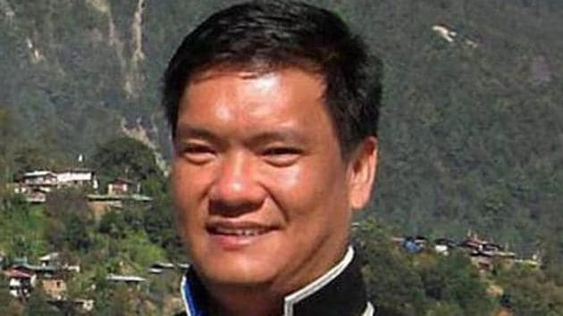 """Pema Khandu said that the machine is needed for conducting """"faster and effective tests amid a rise in interstate travellers entering Arunachal Pradesh"""".(PTI)"""