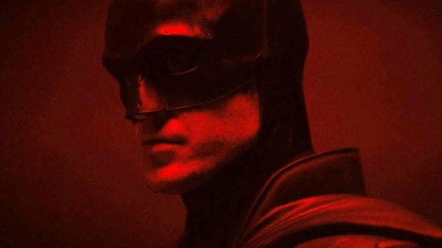 Robert Pattinson as Batman.