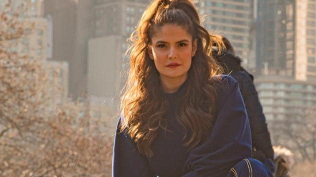 Actor Zareen Khan is celebrating her birthday without much fanfare this year