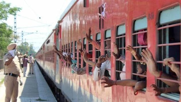 The trains will not stop at any stations other than the destination stops. The administration, however, refused to divulge any details about the fare and food of the travellers.(HT file photo. Representative image)