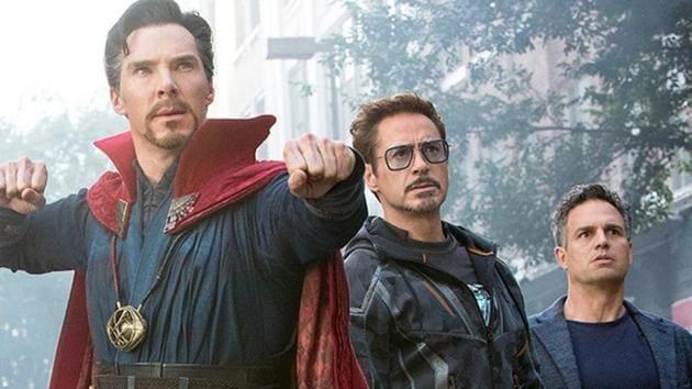 A still from Avengers Infinity War.